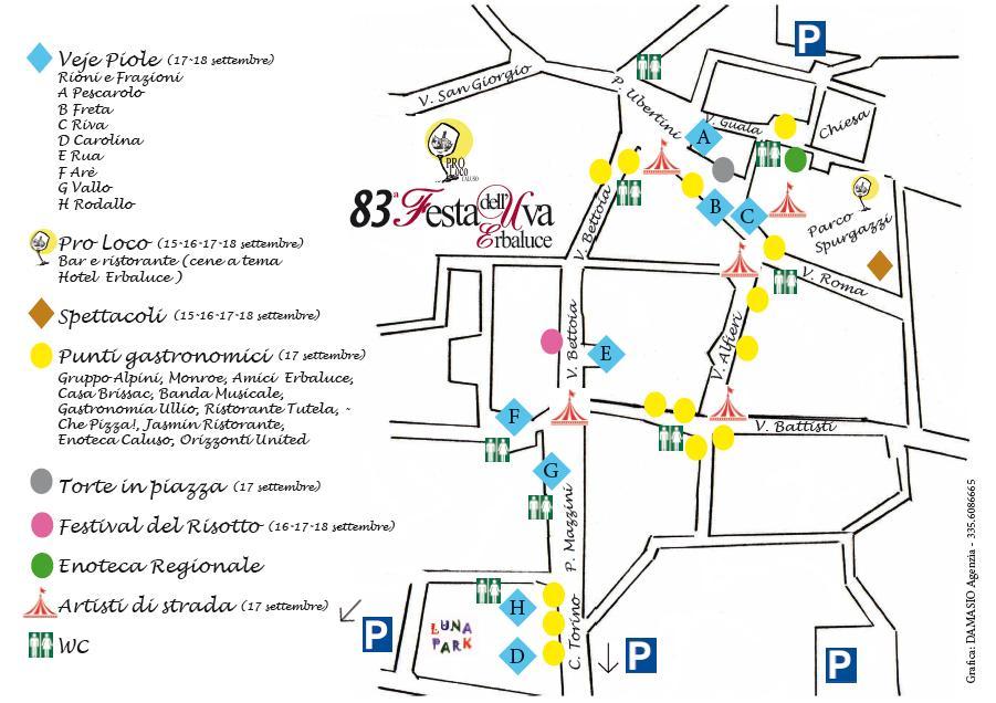 Mappa Festa dell'uva